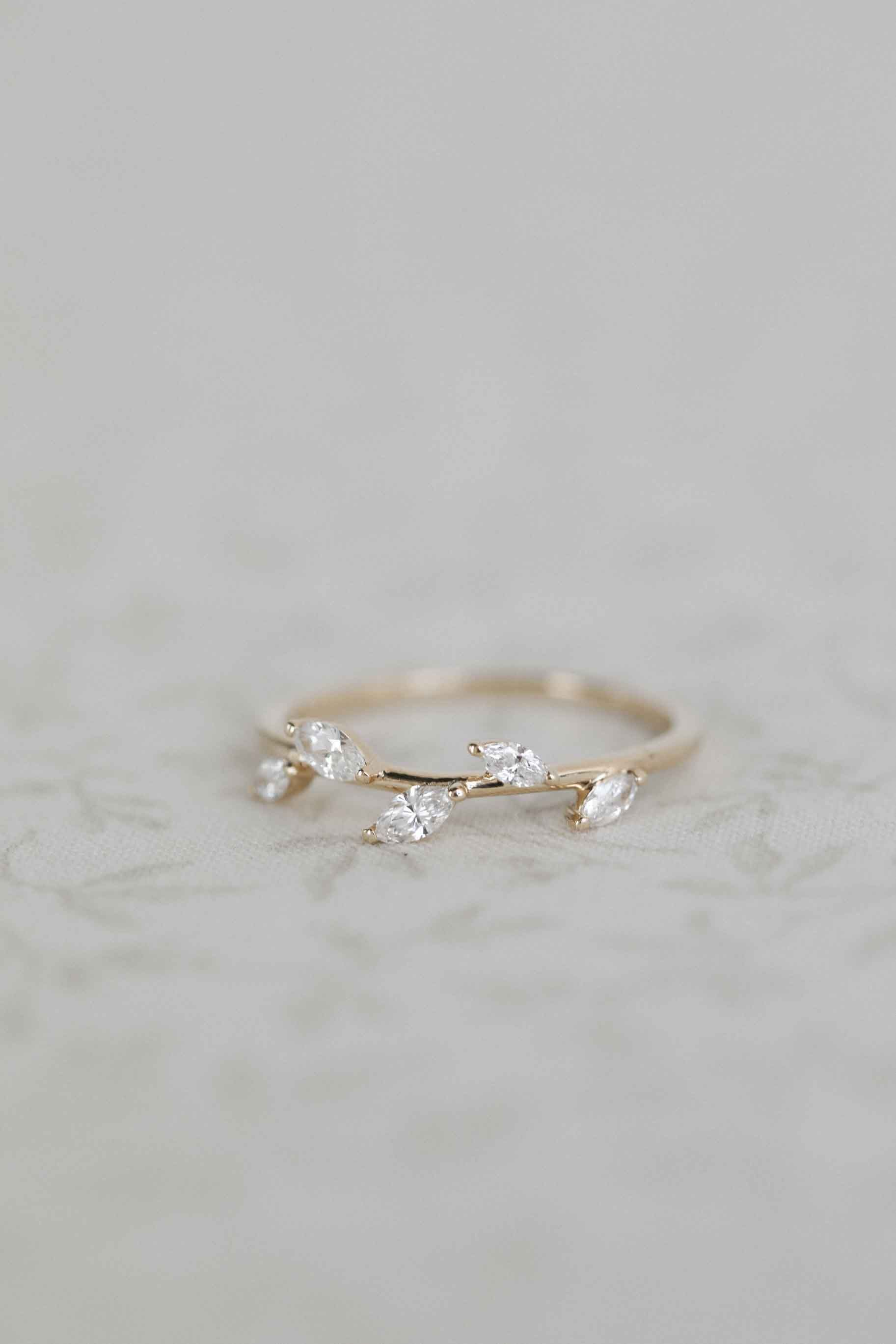 Branch In 2020 Yellow Gold Engagement Rings Engraved Items Wedding Bands For Her