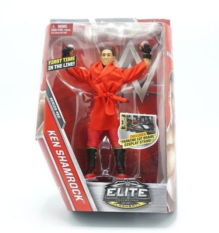 Ken Shamrock Character: Ken Shamrock Elite Series 52 WWE Mattel Brand New Figure