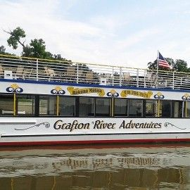 River cruises begin April 25! Make sure to make your reservations now. Alton IL