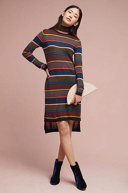 Scotch   Soda Striped Turtleneck Dress   Pinterest   Turtleneck ... dd85b6743a36