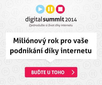 Už brzo se koná ta správná akce! Nastartujte úspěšný rok s Digital Summit 2014