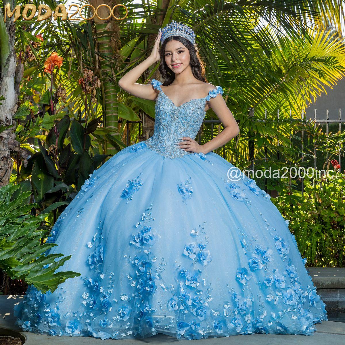 Enchanted Forest Bahama Blue Off The Shoulder Quince Dress Quinceanera Dresses Blue Quince Dresses Quince Dress [ 1200 x 1200 Pixel ]