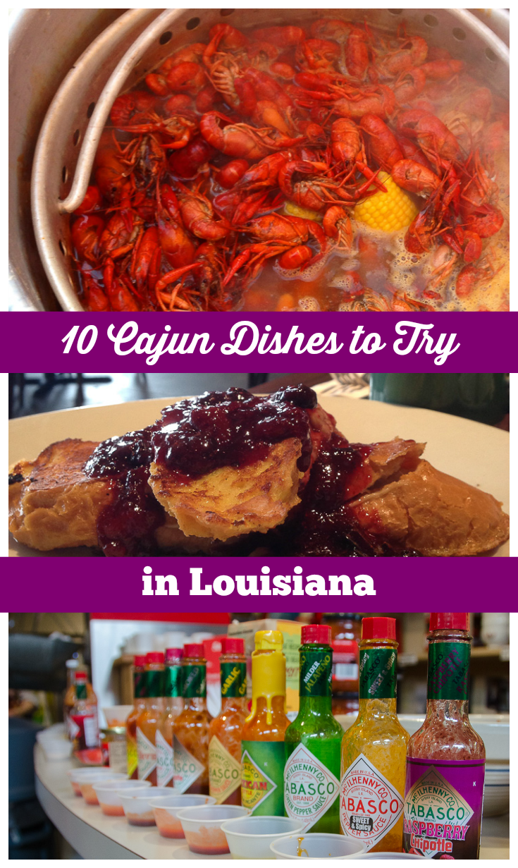 10 Cajun Dishes To Try in Louisiana #cajundishes