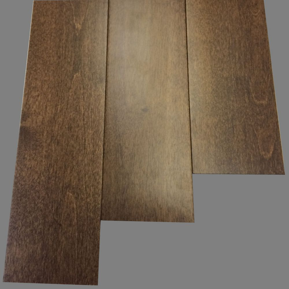 Quickstyle Hardwood Balsamic Birch 3 1 2 Inch X 3 4 Inch 20 93 Sq Ft Case The Home Depot Canada Flooring Hardwood Laminate Plank Flooring