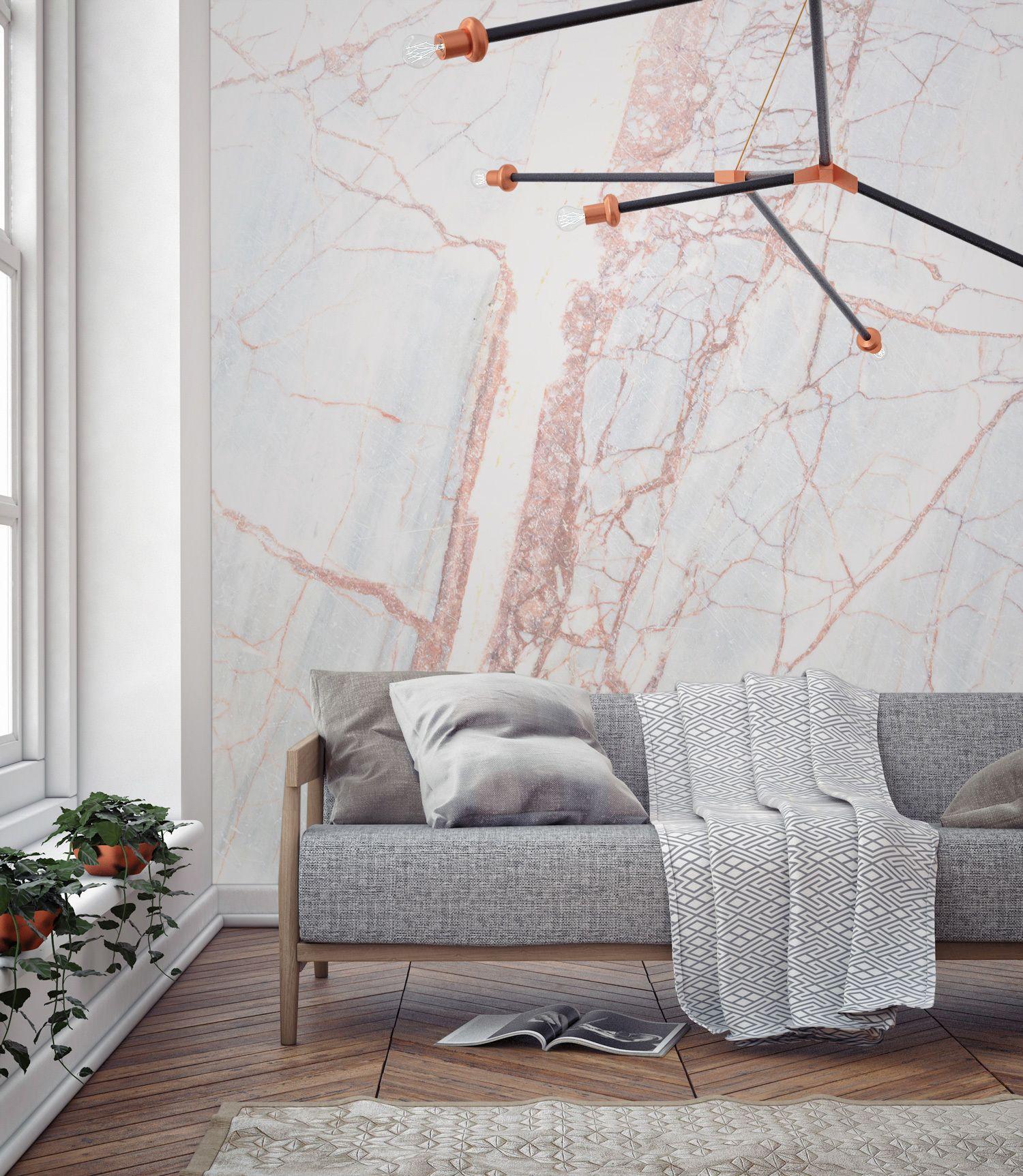 Bronze Textured Marble Wallpaper Mural Murals Wallpaper D