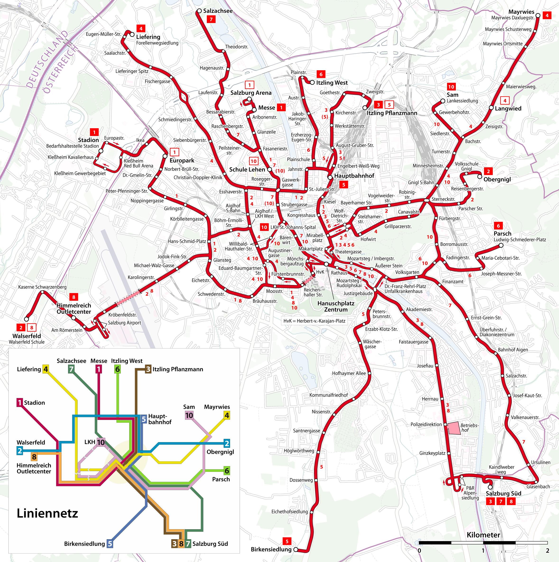 Salzburg Trolleybus Map Salzburg Pinterest