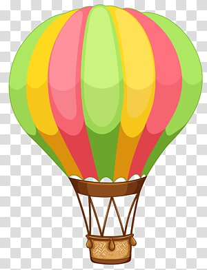 Multicolored Hot Air Balloon Hot Air Balloon Air Balloon Transparent Background Png Clipart Balloon Illustration Balloon Cartoon Hot Air Balloon Drawing