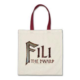 Fili Name Tote Bag by thehobbit
