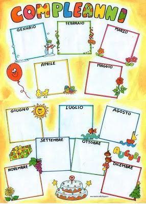 Cartellone 39 compleanni 39 compleanno scuola dell 39 infanzia for Idee per cartelloni scuola infanzia