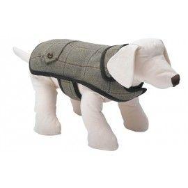 Digby Harris Tweed Dog Coat