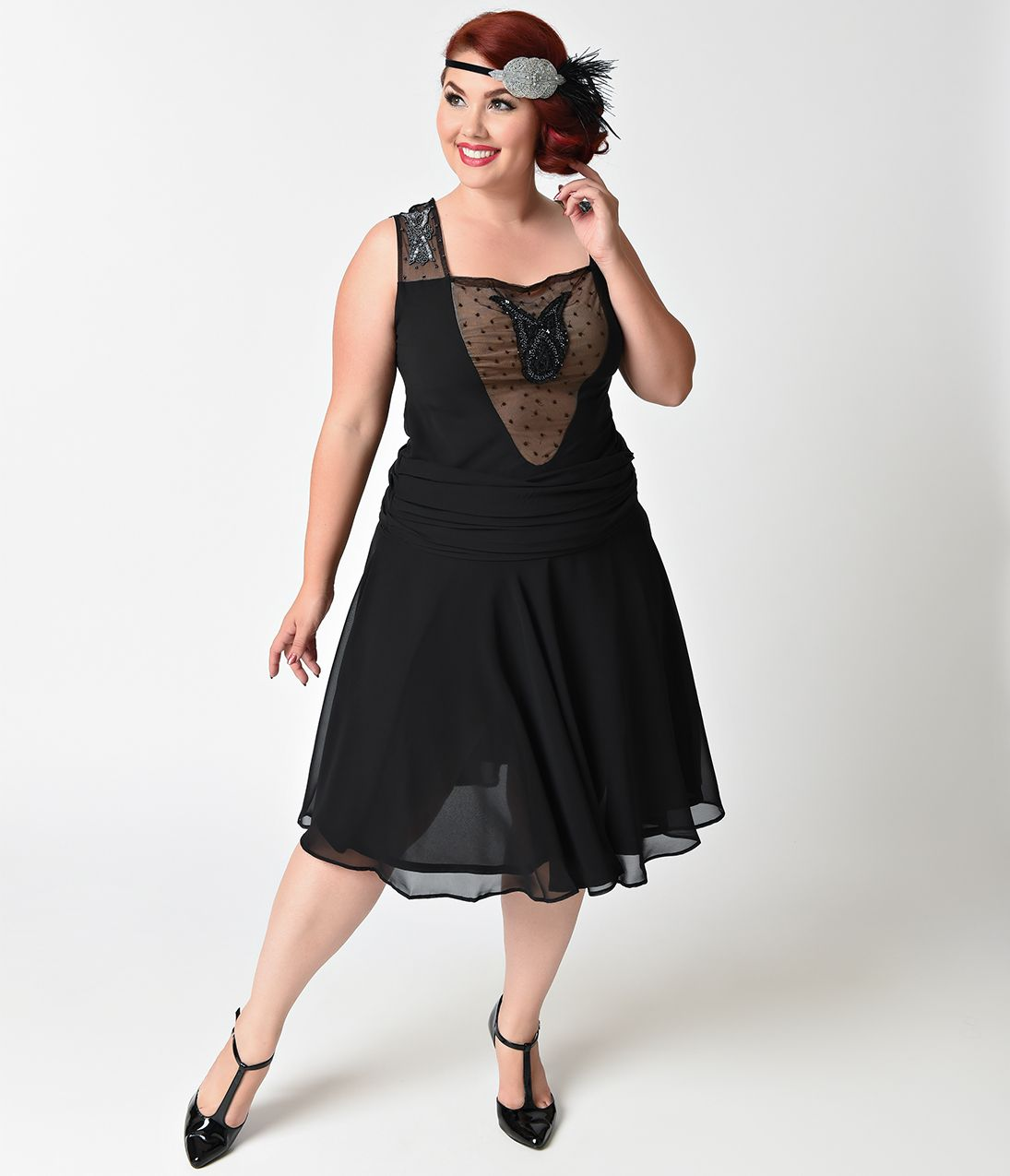 Shop 1920s Plus Size Dresses and Costumes in 2019 | Plus ...