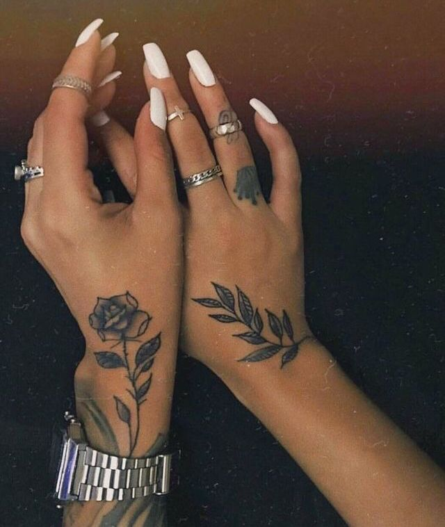 Pin By Marlena Martinez On Tattoos Hand Tattoos For Women Hand Tattoos Tattoos