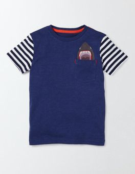 7d642eeb7ea8 Embroidered Pocket T-shirt Boden