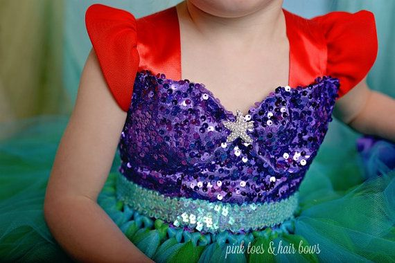The Little Mermaid Tutu Dress The Little Mermaid By
