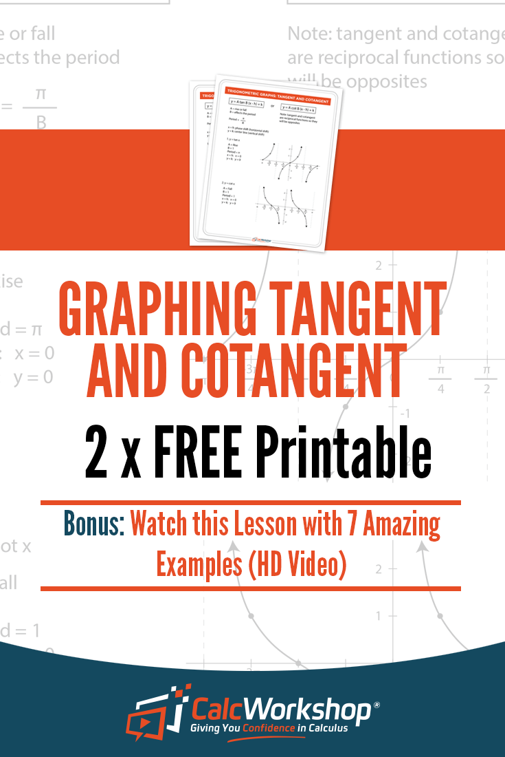 How to Easily Graph Sec, Csc, Cot, and Tan (Step-by-Step ...