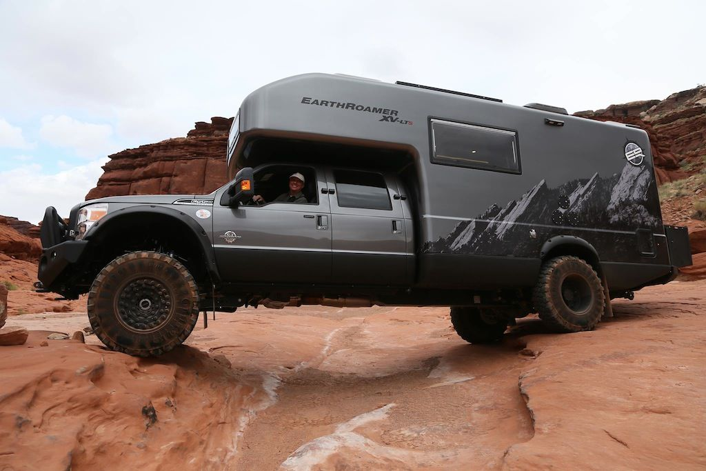 Covet the EarthRoamer camper van | Camper | Off road rv