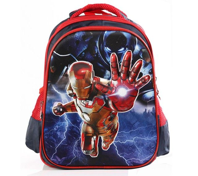 3D Backpack Iron Man For Baby Boy.