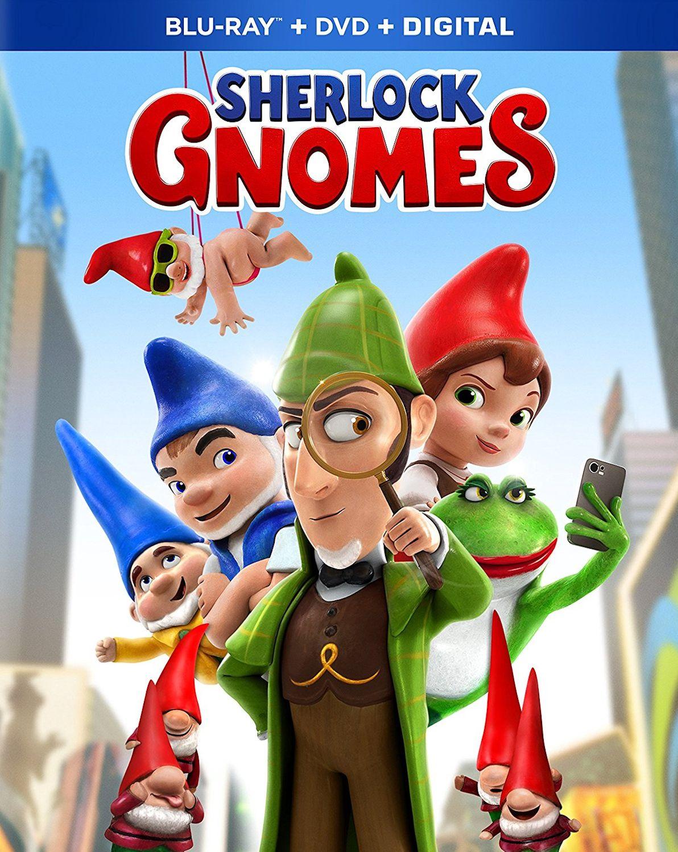 SHERLOCK GNOMES BLURAY (PARAMOUNT) Sherlock, Kid movies