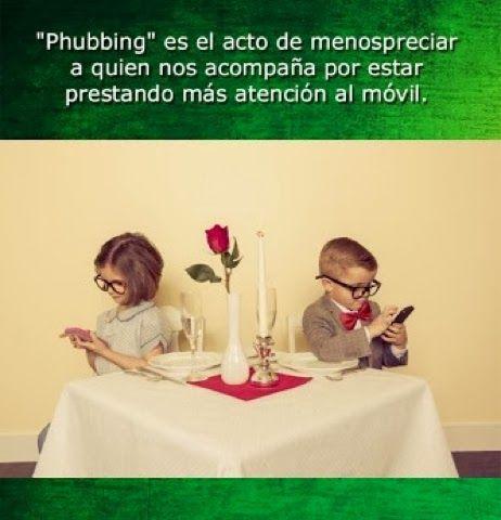 Phubbing: el acto de menospreciar a alguien por prestar más atención al teléfono ~ Nueva Mentes