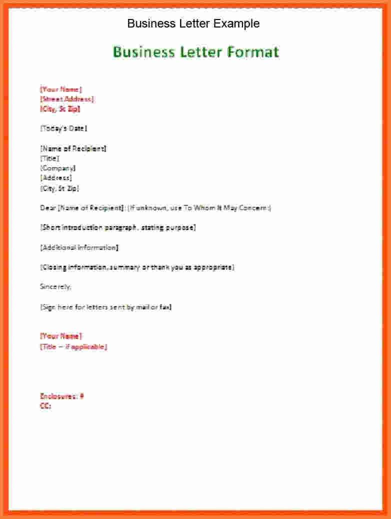 27 Cover Letter Spacing Resume Cover Letter Example Business