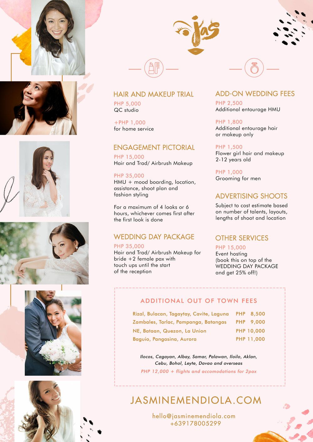 Perfect Hair And Makeup For Wedding Cost Philippines And Description In 2021 Wedding Costs Wedding Makeup Affordable Wedding Packages