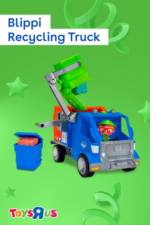 Blippi Garbage Truck Coloring Page - Thekidsworksheet