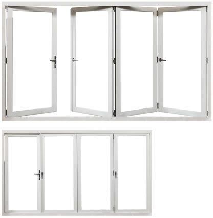 Overture Folding Door | Vinyl Bi-Fold Patio Doors | Royal Patio Door ...