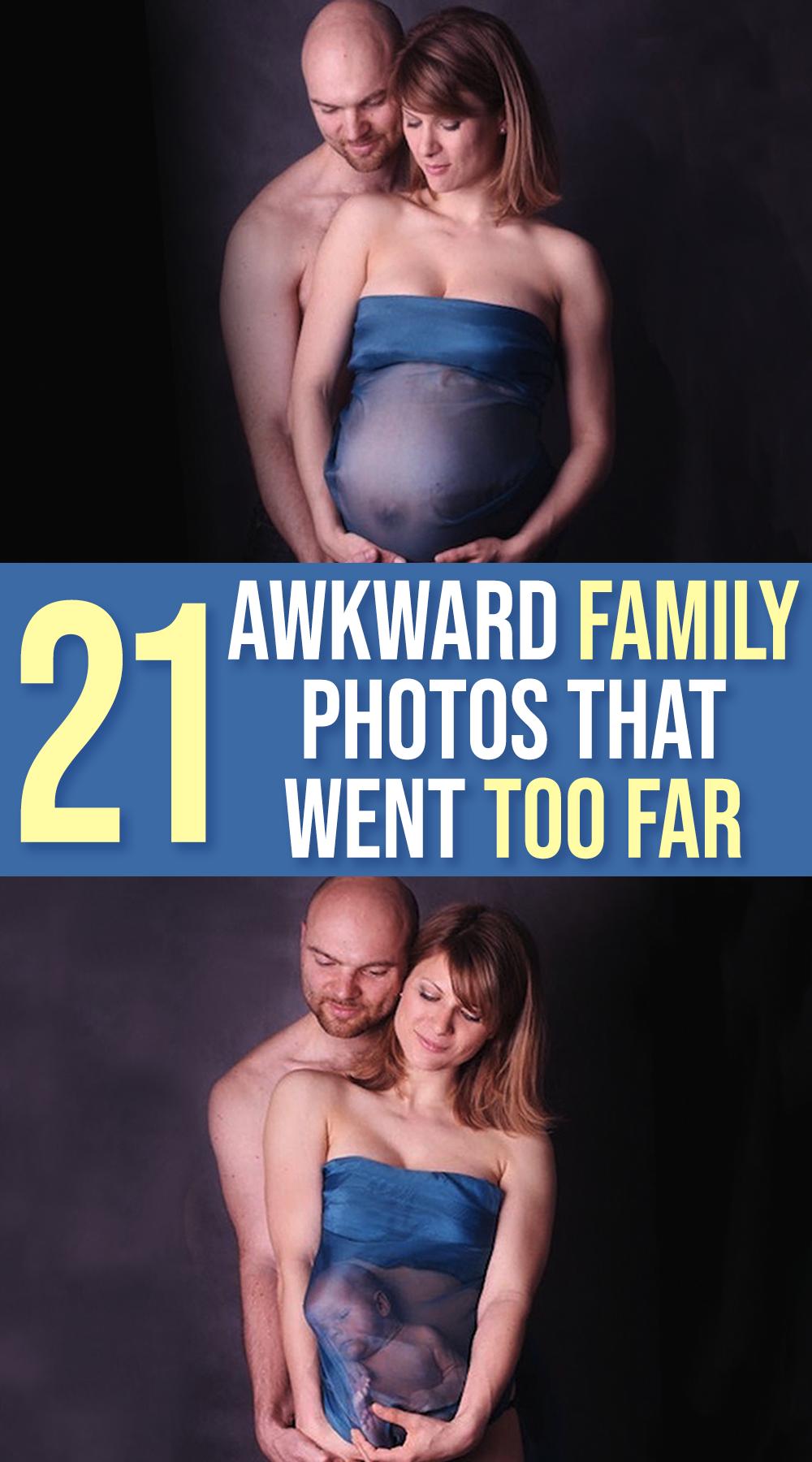 21  Awkward Family Photos That Went Too Far