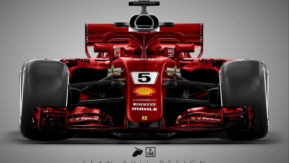 Ferrari Kiest Voor Volledig Rode Bolide Racingnews365 Ferrari Auto S En Motoren Auto