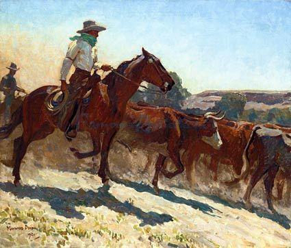 The Crossing - Maynard Dixon
