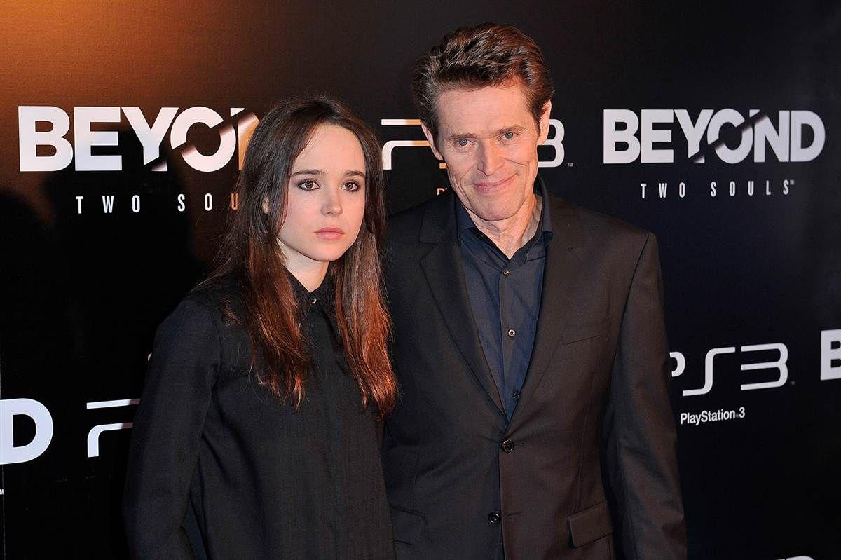 Ellen Page, Willem Dafoe