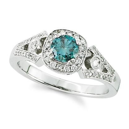 Wedding Rings With Color RingsCladdagh