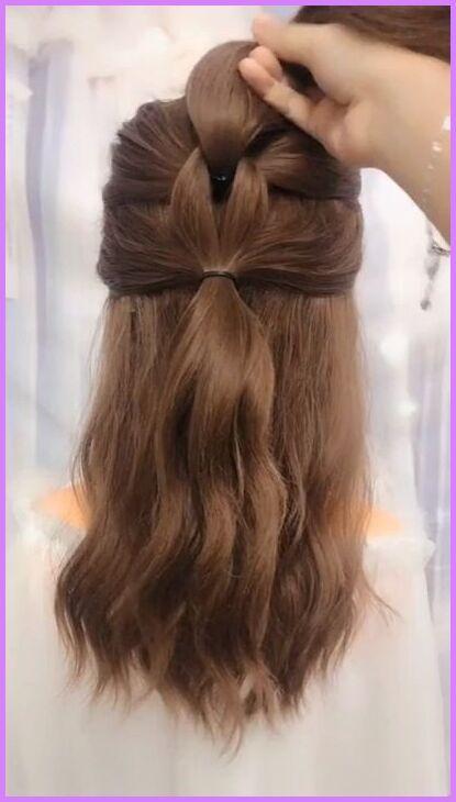 10 Easy School Girl Ponytail - #ponytail #school - # ...