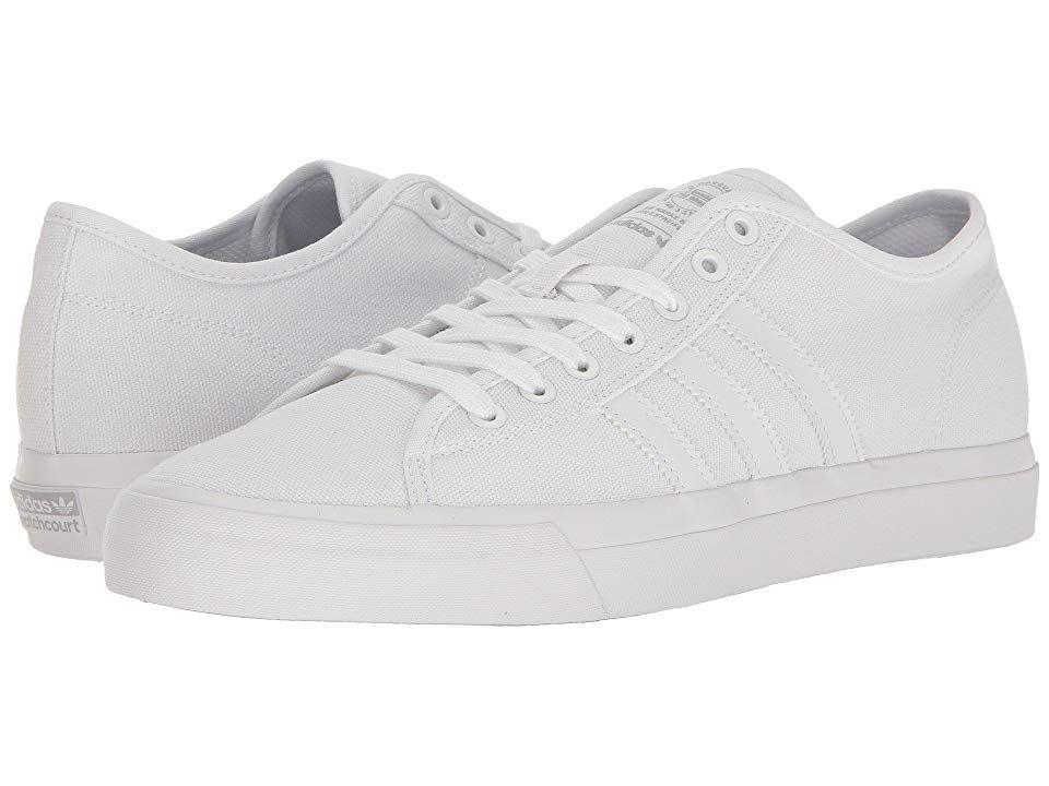 907c0a08e4cb adidas Skateboarding Matchcourt RX (Footwear White Footwear White Footwear  White) Men s Skate