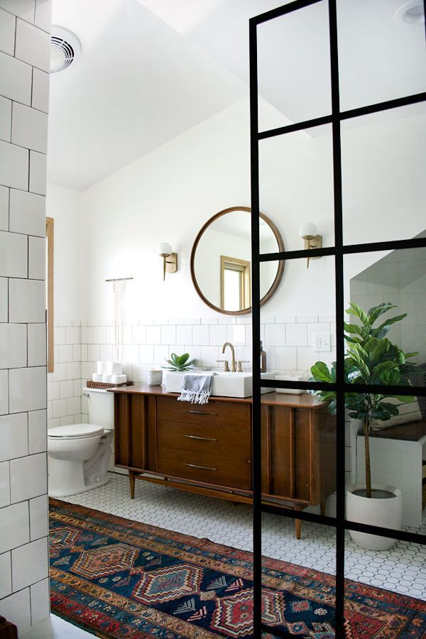 Modern Vintage Bathroom Makeover #style #shopping #styles #outfit #pretty #girl #girls #beauty #beautiful #me #cute #stylish #photooftheday #swag #dress #shoes #diy #design #fashion #homedecor