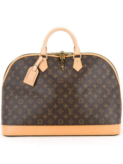 Shop Louis Vuitton Vintage Alma Voyage MM Monogram bag.  72c97f4b02de5