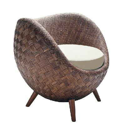 Schön Kenneth Cobonpue : Collections : LA LUNA : Easy Armchair   Proudly  Philippine Made