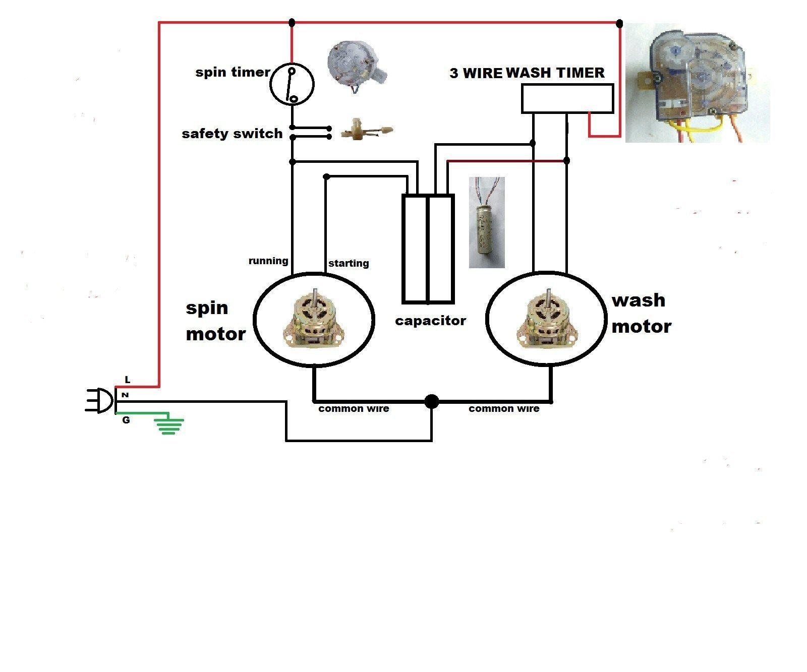 Fortress Wiring Diagram In 2020 Washing Machine Motor Whirlpool Washing Machine Washing Machine