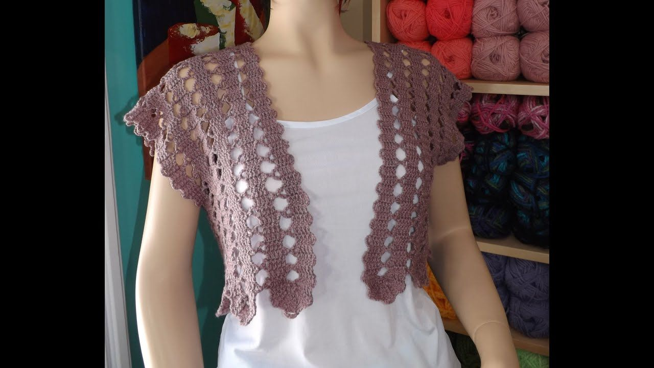 08a625d741a1a Crochet summer cardigan part 1 of 2 - with Ruby Stedman - YouTube ...