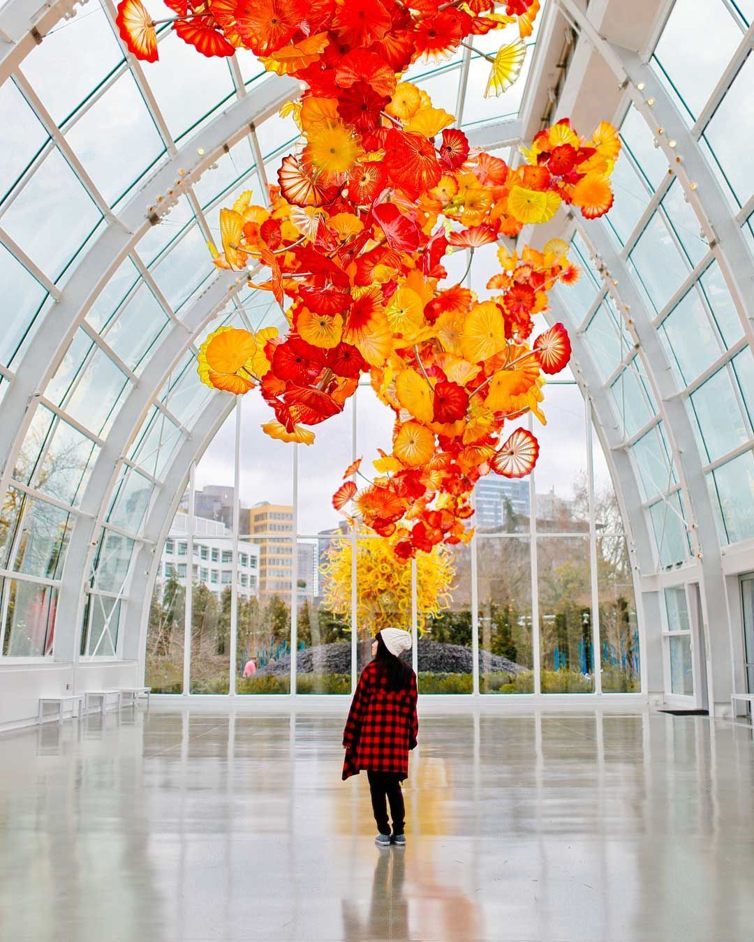Chihuly Garden and Glass was our favorite museum to visit