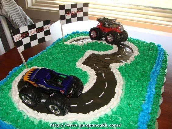 Astonishing 3 Year Old Birthday Cake Images Fk 181 With Images Boy Funny Birthday Cards Online Overcheapnameinfo