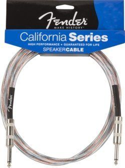 Fender Accessories 099-2516-010 25-Feet 16 Gauge 1/4 Speaker Cable ...