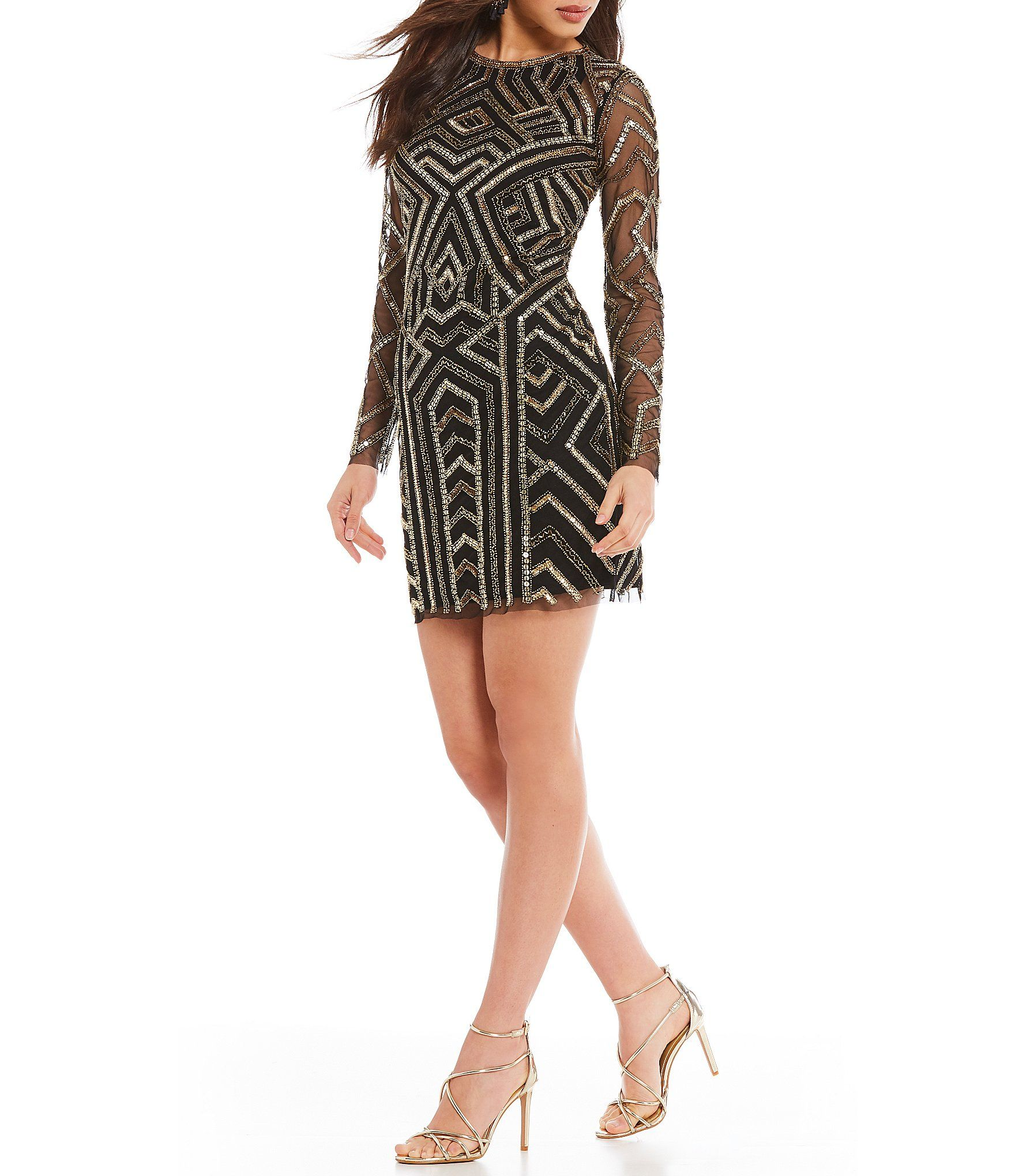 8ed5a13031c Shop for Gianni Bini Kim Geometric Sequin Dress at Dillards.com. Visit  Dillards.com to find clothing