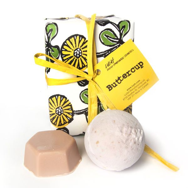 Buttercup Wrapped Lush Cosmetics Lush Cosmetics Handmade Cosmetics Lush Diy