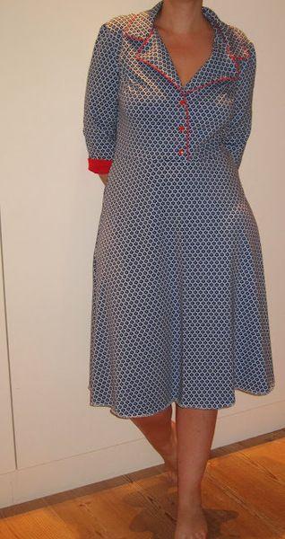 5a9c1513b40876 Patroon kleding - Het patroon Telma jurk+blouse+rok maat 42-44-46 - Een  uniek product van VintageEnRetroNaaipatronen op DaWanda