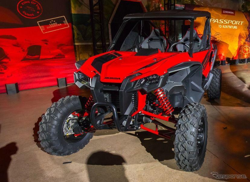 ホンダ スポーツタイプのオフロードバギーを発表 ロサンゼルスモーターショー2018 レスポンス Response Jp モーターショー ホンダ ロサンゼルス