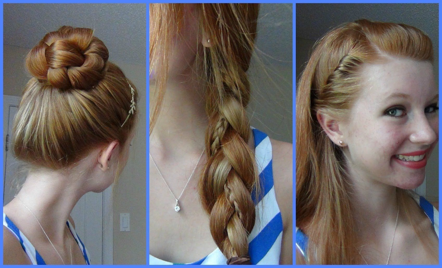 simple quick and easy back to school hairstyles