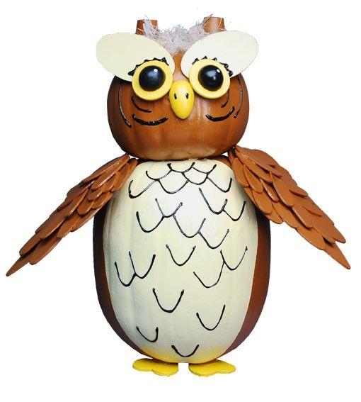 owl no carve pumpkin decorating ideas  sc 1 st  Pinterest & owl no carve pumpkin decorating ideas   halloween fun and yummm ...