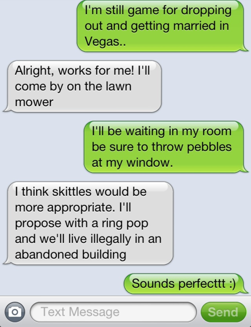 Girl Asks Boyfriend To Buy Makeup, Regrets Her Decision ...  Funny Boyfriend And Girlfriend Texts