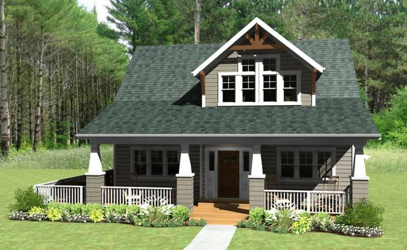 Cottage homes simple beautiful and harmonious cottage for Simple house exterior design